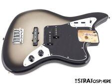 LOADED Fender Troy Sanders JAGUAR BASS BODY J Guitar Parts Silverburst