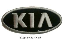 KIA racing biker car embroidered iron on patch badge motor sports Hat Jacket