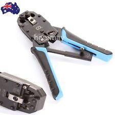 AU 10P10C RJ11 RJ12 RJ45 DEC Cable Network Crimper Pliers Modular Crimping Tool