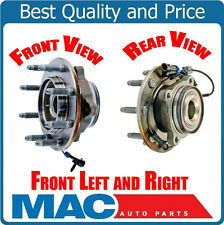 For 07-10 Silverado 2500HD 4x4 (2) Ft Wheel Bearing and Hub Assembly 8 Year Warr