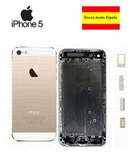 Chasis iPhone 5 carcasa completa marco tapa trasera Apple blanco oro dorado