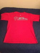 Philadelphia Phillies Cliff Lee #33 Jersey/Shirt Size Large Majestic