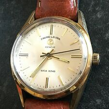 Vintage Fabre-Leuba Geneve Sea King Automatic Watch