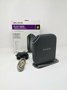 Belkin Play N600 Wireless Dual Band N+Router High Performance Game Streaming
