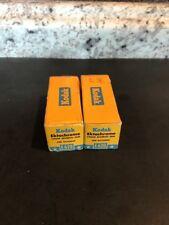 Lot 2 Rolls Vintage Kodak Ektachrome E620 E 620 Color Film expired 1960