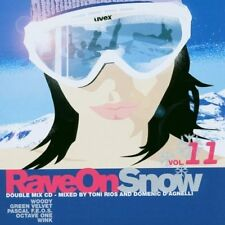 Rave on Snow 11 (2003, mixed by Toni Rios, D. D'Agnelli) Wink, Green Ve.. [2 CD]