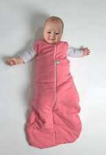 ErgoPouch Organic Cotton 2.5 TOG All Year Sleeping Bag 0 - 3 Mth Hybrid Pink