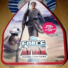 Star Wars Topps Force Attax The Force Awakens TIN - 48 cards & 1 Limited Edition