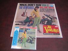 THE VENTURES Walk Don't Run, Vol. 2 OBI JAPAN REPLICA OBI CD + 180 GRAM VINYL LP