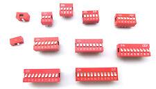 1x DIP Schalter Kodierschalter 1- 2 - 3 - 4 - 5 - 6 - 7 - 8 - 9 - 10 - 12 - fach