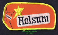 LMH PATCH Badge HOLSUM BREAD Enriched Baking Old Fashioned ORANGE LOAF Star Logo