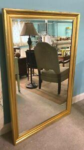 Very Large RARE Dorthy Draprer Company Gold Mirror The Greenbrier Resort Hotel