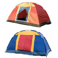 8 Person Large Family Tent Dome Traveling Camping Hiking Outdoor Shelter Cabin