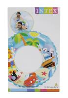 Intex Transparent Printed Swim Ring