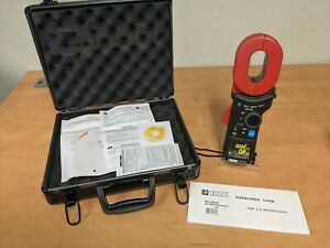 Chauvin Arnoux CA6418 Earth Clamp with oblong head, complete with case &  calibr