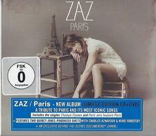 ZAZ / PARIS - LIMITED EDITION * NEW CD+DVD 2014 * NEU *