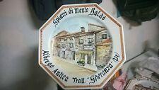 Piatto ceramica ALBERGO ANTICA TRATTORIA SPERANZA Spiazzi di Monte Baldo