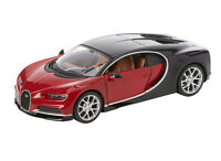 Bugatti Chiron [Kit] in Red and Black (1:24 scale by Maisto 39514)