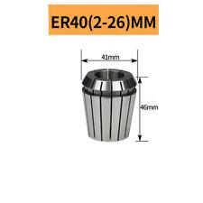 Er40 Precision 00050015mm Spring Collet Chuck Spindle Motor Cnc Mill 2 26mm