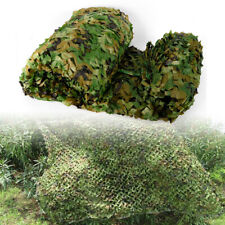26 x 26Ft Woodland Desert Leaves Camouflage Camo Net Netting Camping Hunting Usa