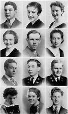 1935 Washington DC Roosevelt High School Yearbook~Photos~History~Football~Ads~++