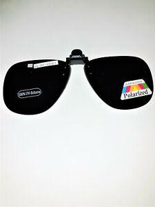 """Klappsonnenbrillen: Sonnenbrillen-Clip """"Allround"""" für Brillenträger, polarisiert"""