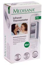 Medisana Fieberthermometer FTD Infrarot Thermometer 3in1 Speicher Stirn Ohr
