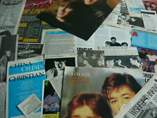 CHINA CRISIS - MAGAZINE CUTTINGS/CLIPPINGS (REF ZG)