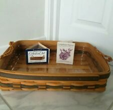 Longaberger Basket /Small Serving Tray, 1996 Collectors Edition