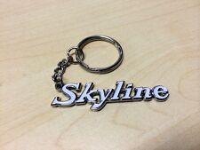 RETRO SKYLINE WHITE Classic Emblem Keyring Key chain for R31 R32 R33 DR30