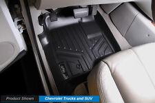 MAXFLOORMAT All Weather Custom Fit Floor Mats�Liner for�Chevy CREW CAB�(Black)