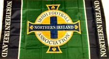 "New Northern Ireland Football Flag NI IFA Flag ""GAWA FLEGG!"" Norn Iron 5ft x 3ft"