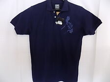 Pinoy Pinay Dakki Men's SS Blue Button Front Polo Casual  Shirt 3xl