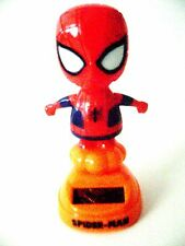Solar-Powered-Dancing-Bobble-Head-Spider-man-With Moving Arms