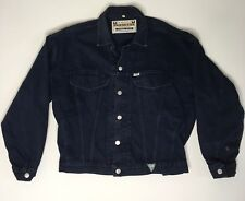 Vintage Mens GUESS Georges Marciano Denim Jean Jacket Medium 80s Made in USA