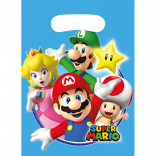 Super Mario Party Tüten Kindergeburtstag Jungen Mitgebsel Gastgeschenke Deko