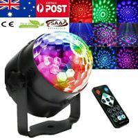 Mini Disco Party DJ LED RGB Stage Car Light Lamp Laser Crystal Magic Ball AU