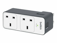 Belkin Travel 2 Way Surge With X 2.4amp USB Charging BST200AF The Protectors BST
