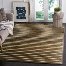 Venice Natural Bamboo 5' X 8' Floor Mat, Rustic Grey Area Rug Indoor Carpet