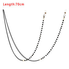Fashion Pearl Acrylic Beaded Eyeglasses Chain Charm Elegant Eyewear Sunglasses