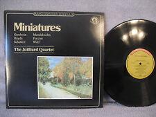 The Juilliard Quartet, Miniatures For Strings, CBS MP 39553, 1984, Classical