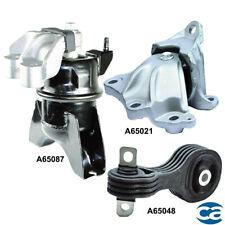 Engine Motor & Auto Trans. Mount 3Pcs Set for Honda Civic 12-13 L4 1.8L Sedan
