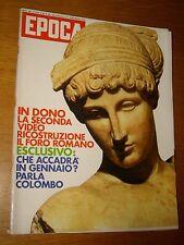 EPOCA 1971/1104=PIETRO CASCELLA MONUMENTO MAZZINI MILANO PIAZZA=MOSTRO MARSALA=