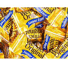 Werther's SUGAR FREE Original Hard Candy 4 LB Bulk Bag Fresh Wrapped Candies