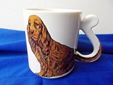Irish setter coffee cup tea coco mug dog puppy breed show made in japan vtg