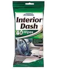40 instantánea interior del coche DASH BOARD brillo toallitas limpia resellable Bolsa Car Pride