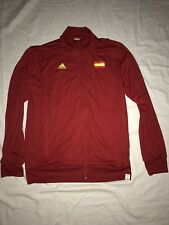 ADIDAS SPAIN ANTHEM TRACK JACKET FIFA WORLD CUP BRAZIL 2014 SIZE M EUC!