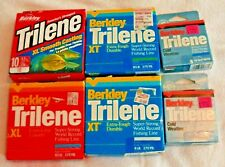 6 New Boxes of Berkley Trilene Fishing Line