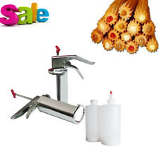 1l Manual Spanish Donuts Churrera Churros Filler Filling Machine Stainless Steel