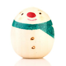 Snowman Miniature Japanese Kokeshi Doll